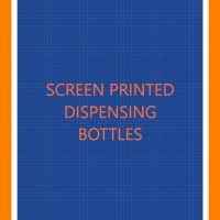 Screen Printed Dispenser Bottles