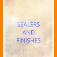 Sealers and Finishers
