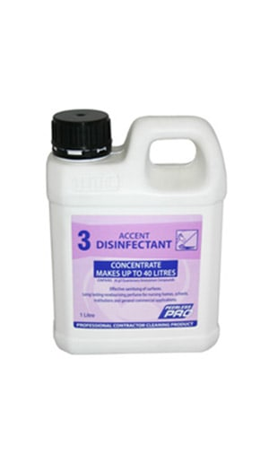 Accent Disinfectant Concentrate 1l Orange Cleaning Supplies