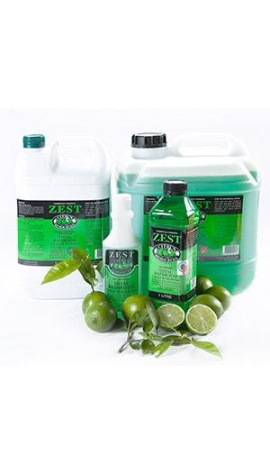 Zest Bathroom Cleaner Orange Cleaning Supplies